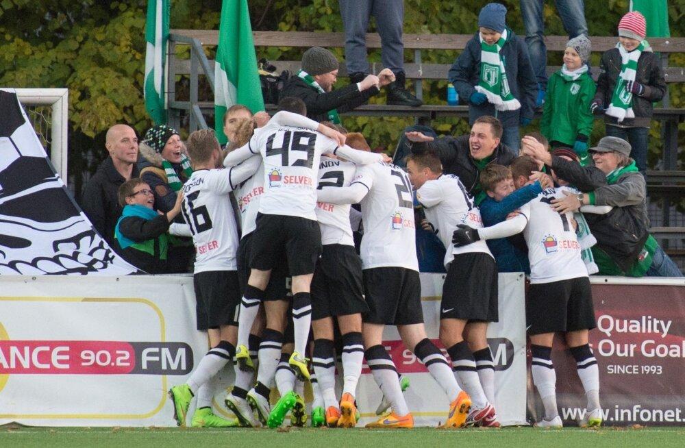 Eesti jalgpallimeister FC Flora