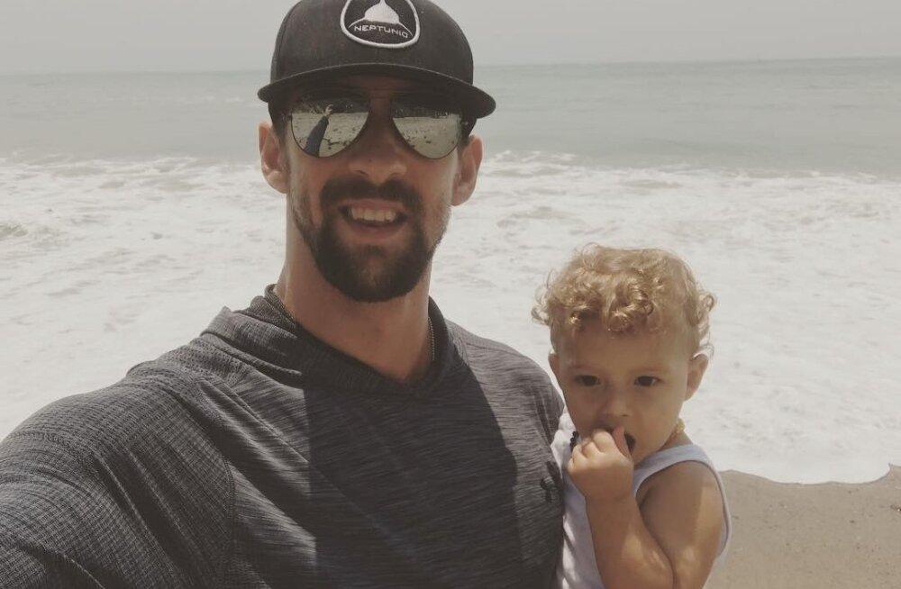 VIDEO | Olümpiavõitja Michael Phelpsi võiduujumine haidega osutus hoopis pettuseks