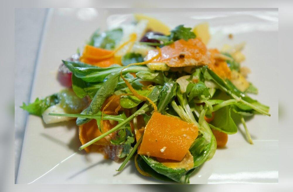 Ära raiska raha vitamiinidele, söö tervislikku toitu!