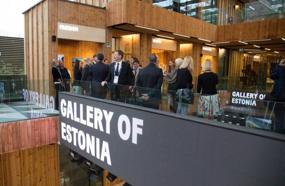 Eesti paviljon Milano EXPO-l.