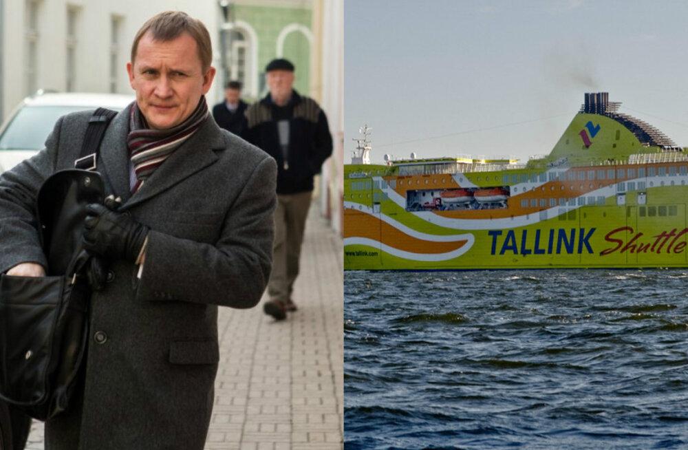 Tallink lubas Romantikal katsetada Rosimannuse ja Tomingase veega kütust