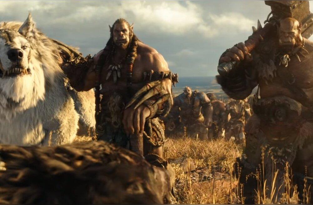 """Videomänguadaptsioon """"Warcraft: Algus"""" purustab Eestis rekordeid"""