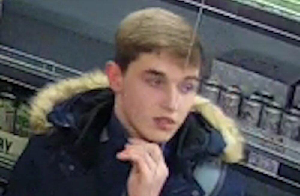 ФОТО | В Нарве полиция ищет молодого человека из-за возможного правонарушения