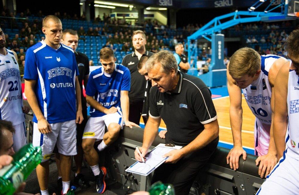 Eesti Korvpallikoondis kohtub EM valiksarjas Valgevenega