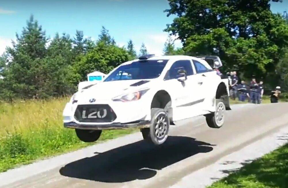 VIDEO | Craig Breen testis esimest korda Hyundai WRC-autot, järgmine peatus on Rally Estonia