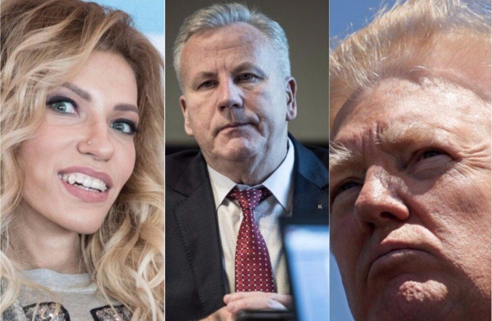 ГЛАВНОЕ ЗА ДЕНЬ: Отставка Сарапуу, Трамп в Брюсселе и Самойлова в Таллинне