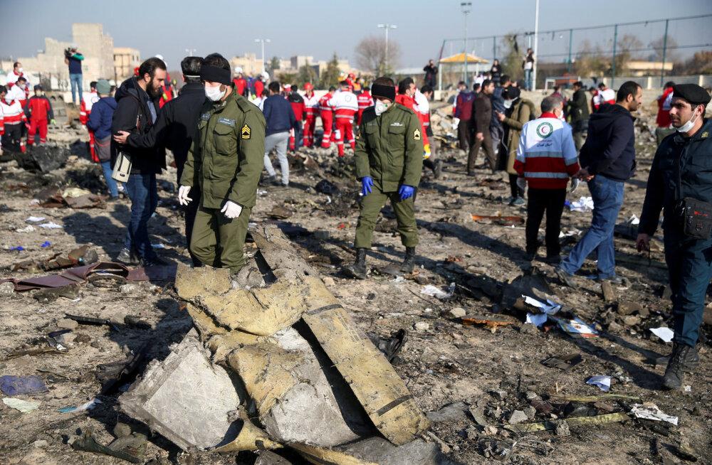 Iraan: Ukraina lennuki allatulistamiseni viis õhutõrjeüksuse valesti seadistatud radar