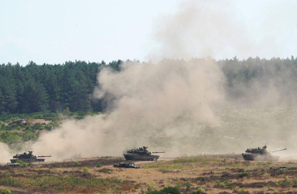 Õppus Defender 20: vägede liigutamine Euroopa kaitseks