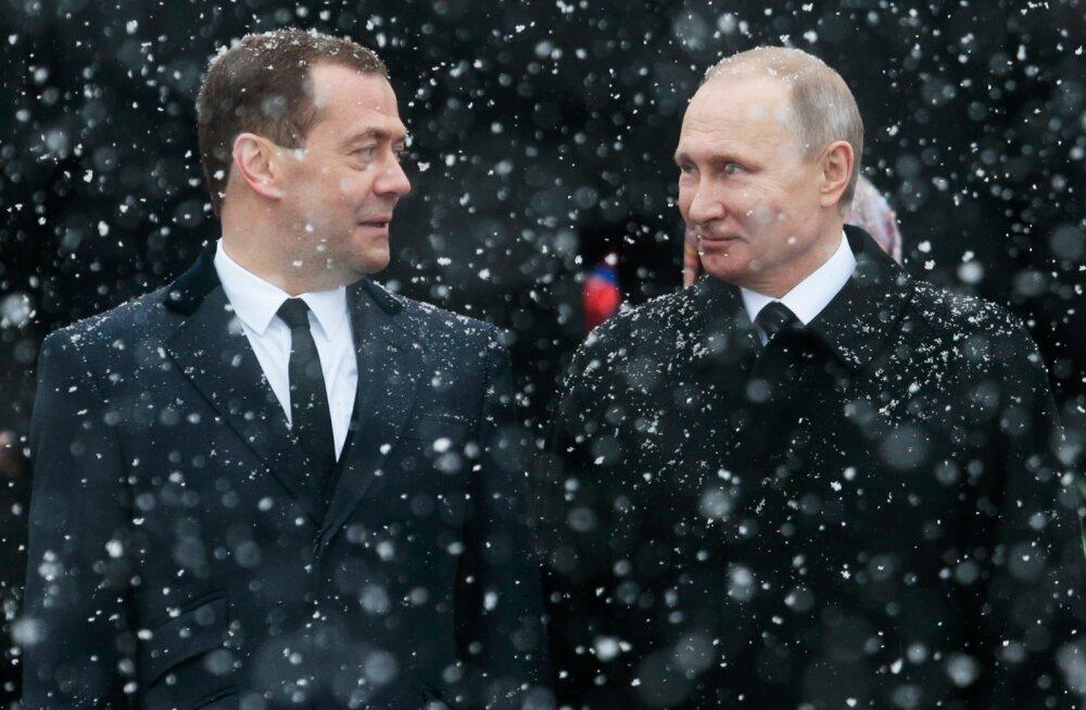 VIDEO: Putin: gripiepideemia on meil tõsine, ka Medvedevit ei säästetud
