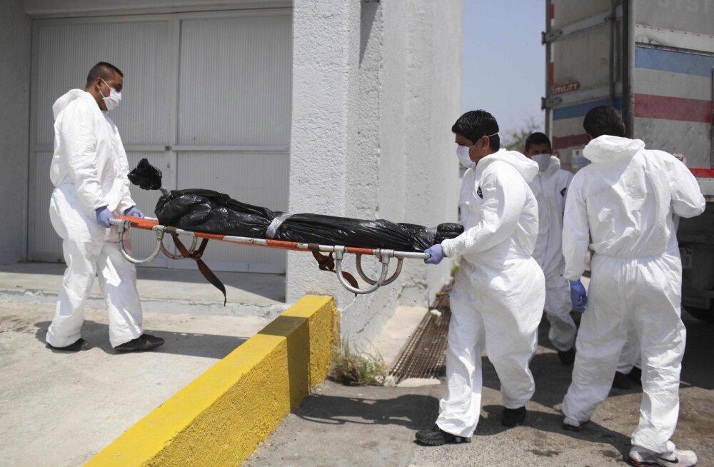 Mehhiko narkosõjas on kadunuks jäänud üle 60 000 inimese