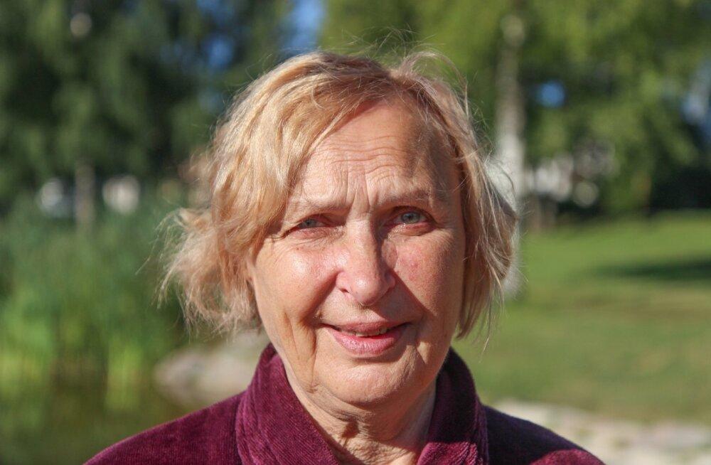 Ugala grand old lady Luule Komissarov tähistab täna oma 75. sünnipäeva