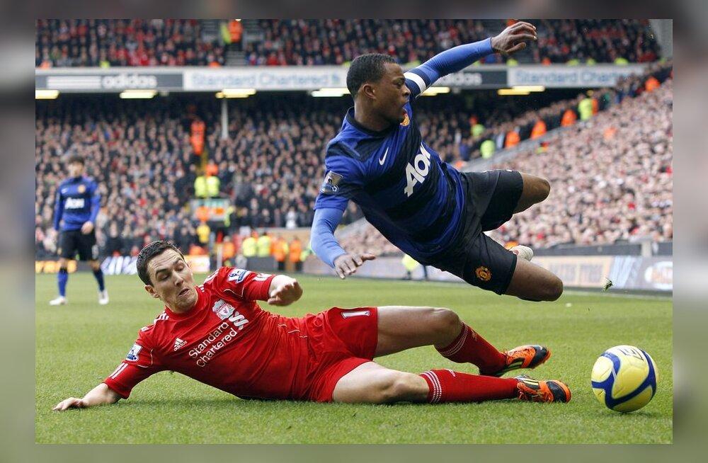 Karikasarja kohtumine Liverpool - ManU, jalgpall