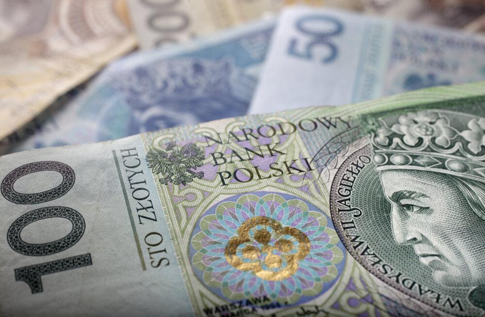 Poola ei kavatse enne Saksamaaga samale rikkustasemele jõudmist eurole üle minna