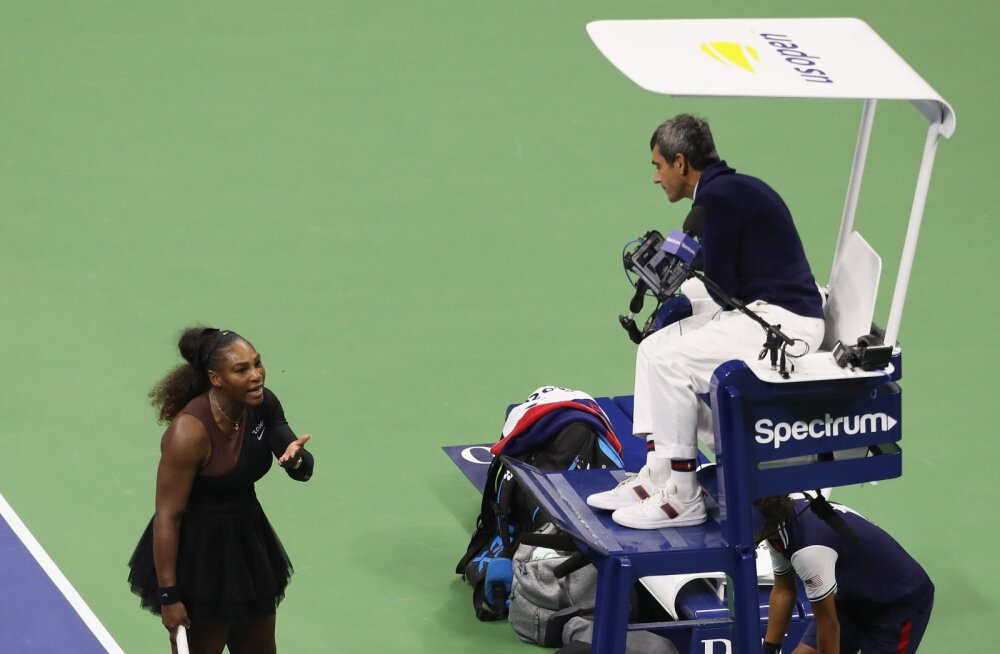 Serena Williams ja Carlos Ramos