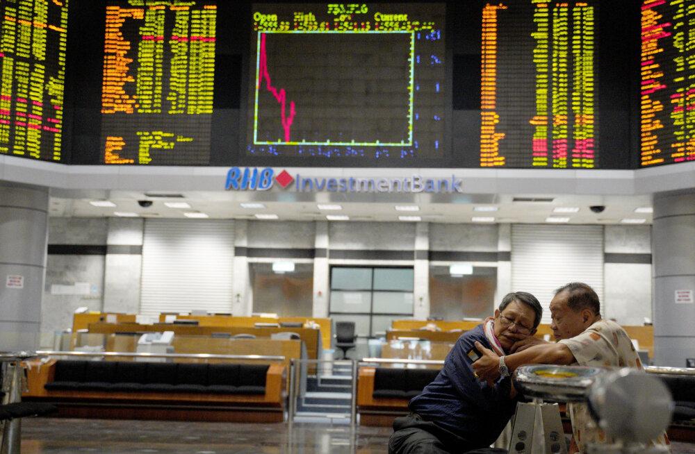USA aktsiaturgude õudus kandus Aasiasse