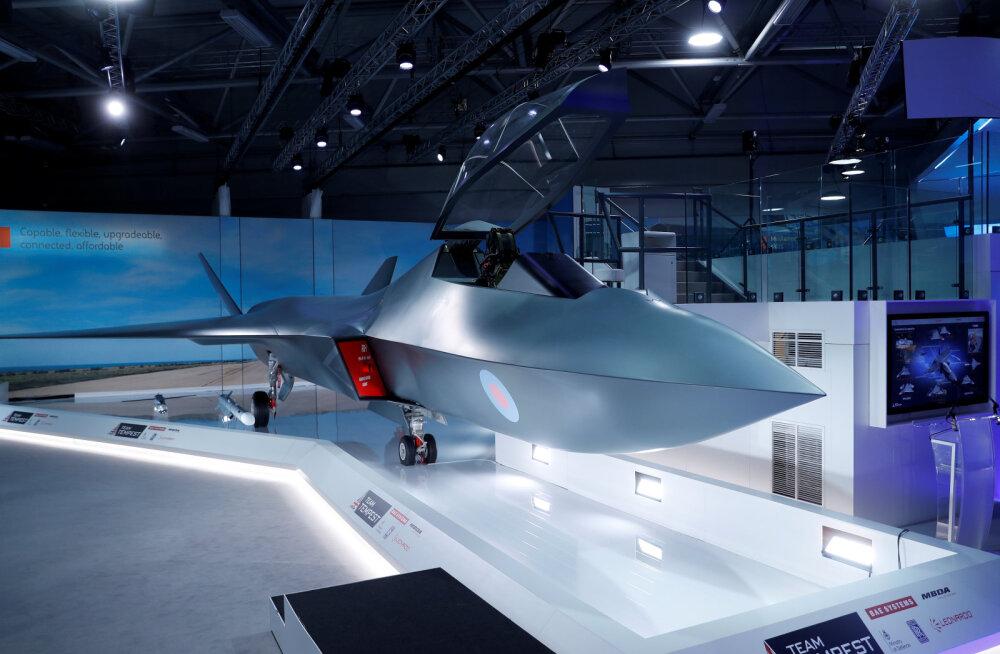 Rootsi ja Suurbritannia hakkavad tegema koostööd uue hävituslennuki väljaarendamisel