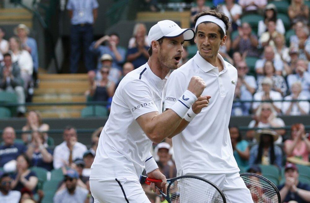 Andy Murray ja Pierre-Hugues Herbert.
