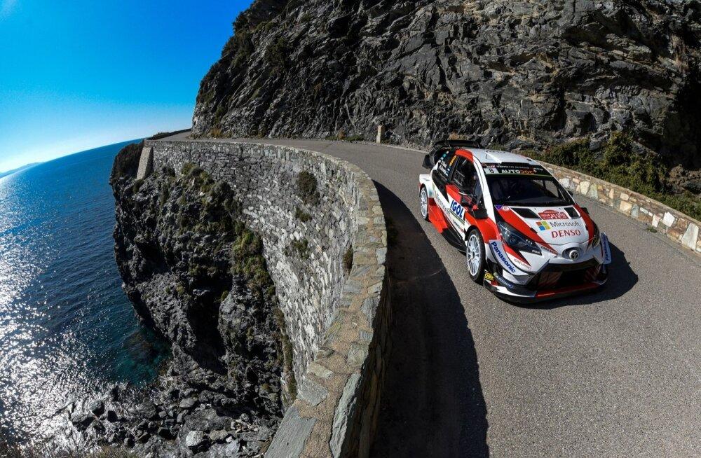 Ott Tänak näitas Korsikal head kiirust, kuid lõpuks tuli leppida kuuenda kohaga.