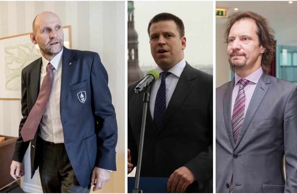 Koalitsioonipartnereid Helir-Valdor Seederi soov koalitsioonileping avada imestama ei pane