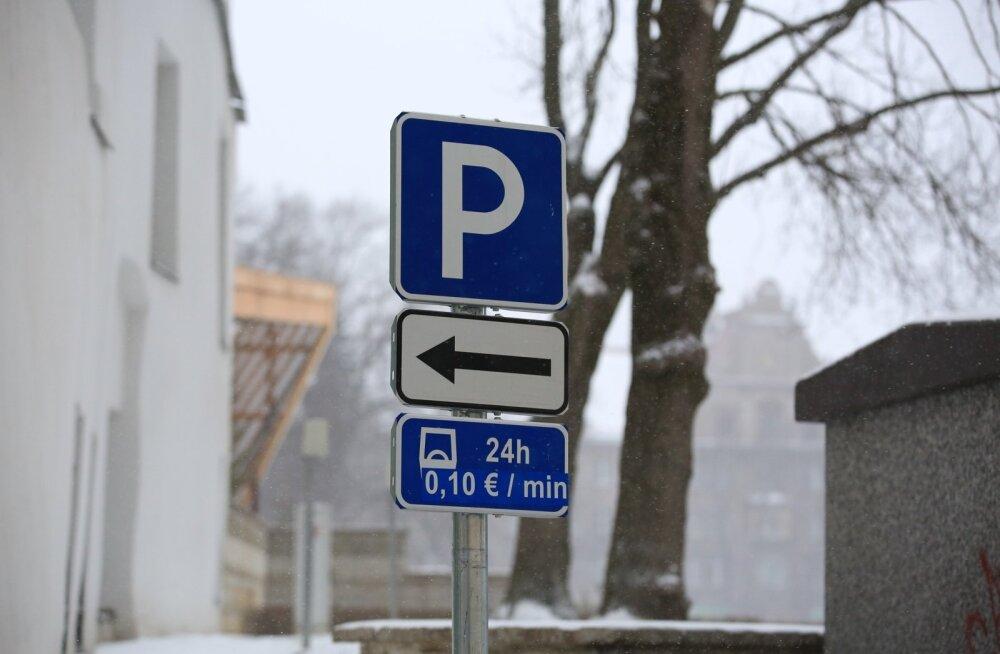Põhja-Tallinna elanikud hääletasid tasulise parkimisala laiendamise vastu