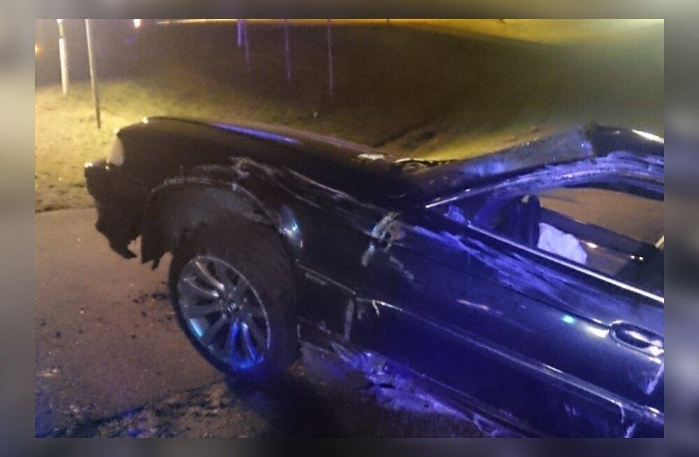 Tartumaal tegi roolijoodik avarii