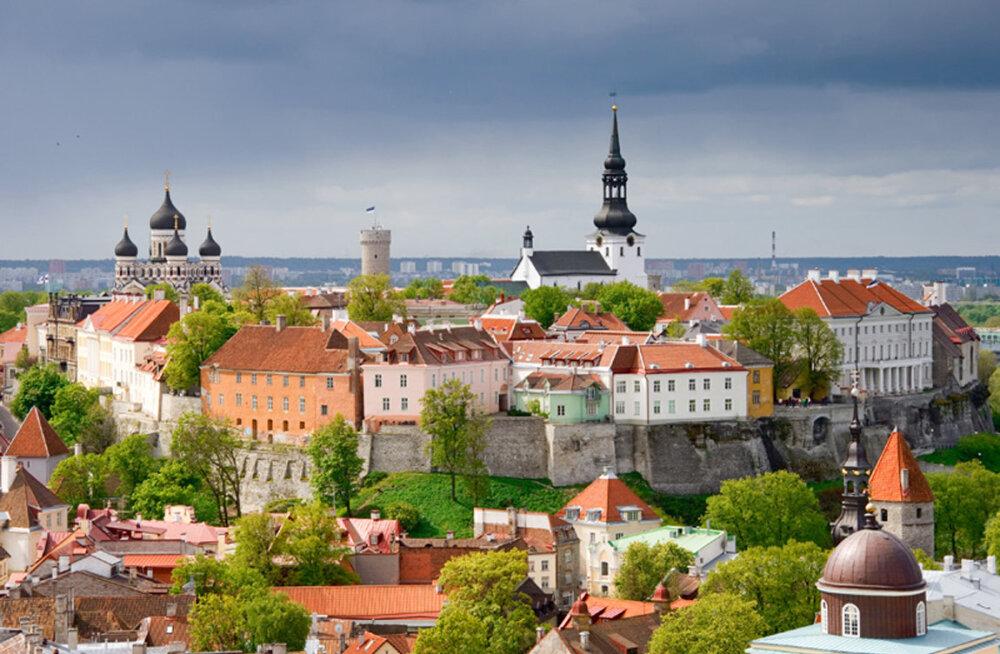 Таллинн входит в топ-10 городов, популярных для путешествий российских туристов на майские праздники