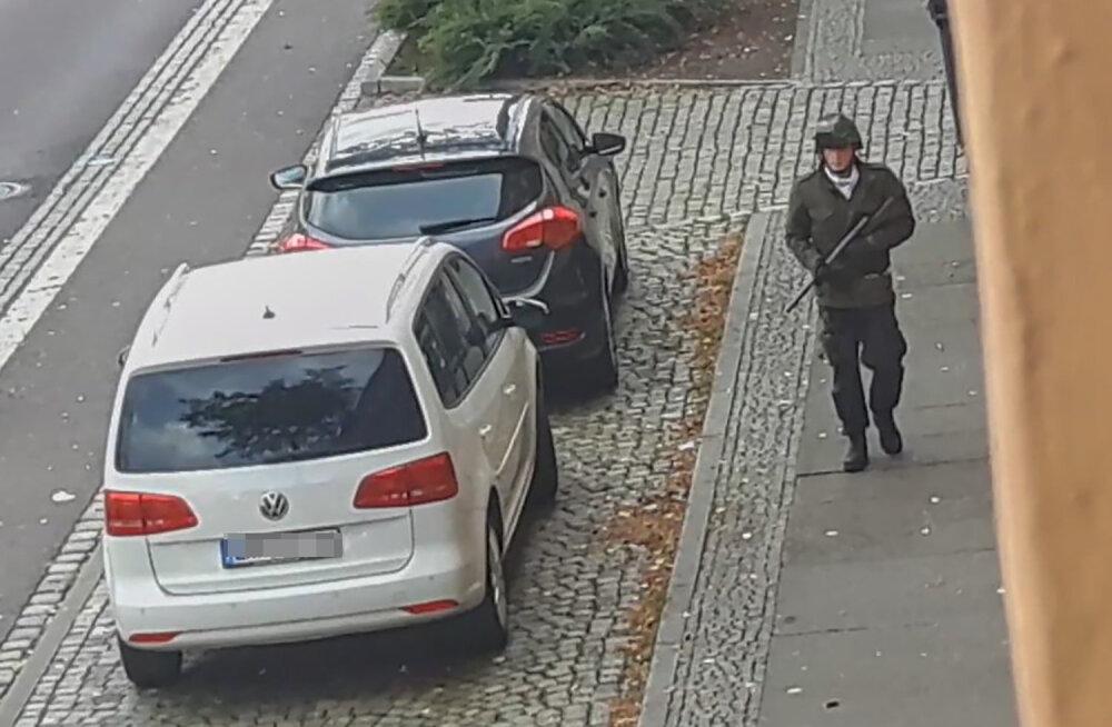 Saksamaal Halles püüdis neonats sünagoogis veresauna korraldada