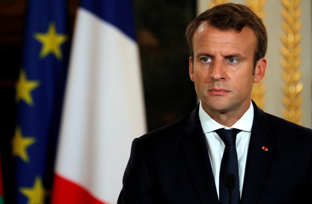 Prantsuse presidendi kavad Euroopa reformimiseks: ühine kaitse-eelarve, euroala ühine rahakott, ühine migratsiooniamet