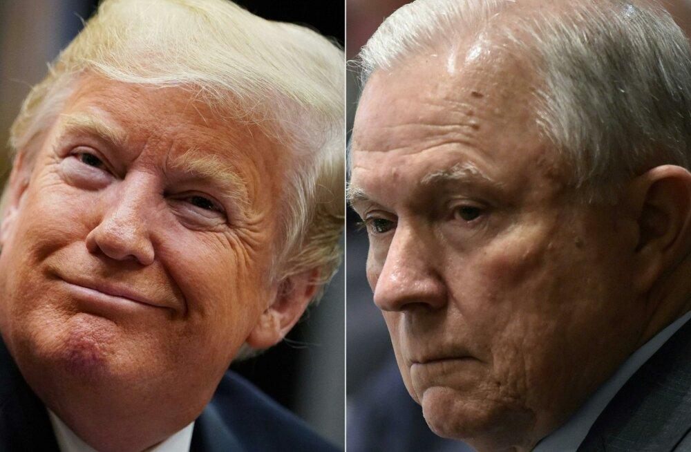Trump ja Sessions