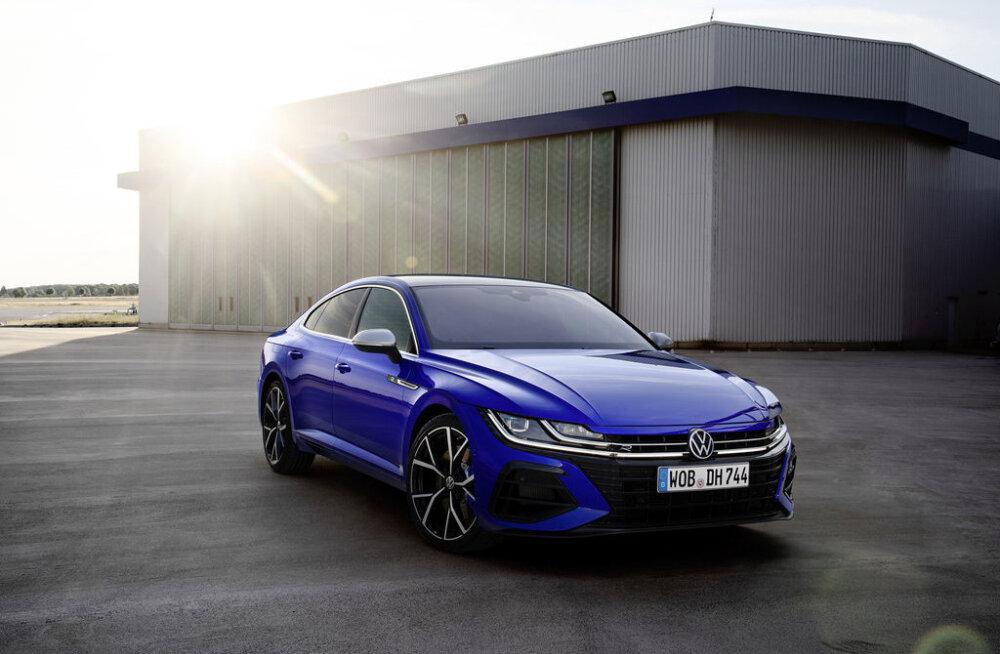 VW esitles uut Arteoni
