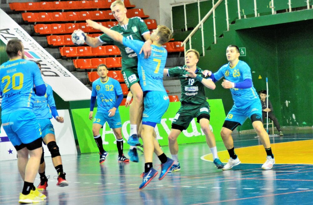 Neli Eesti klubi alustavad teekonda käsipalli Balti liigas