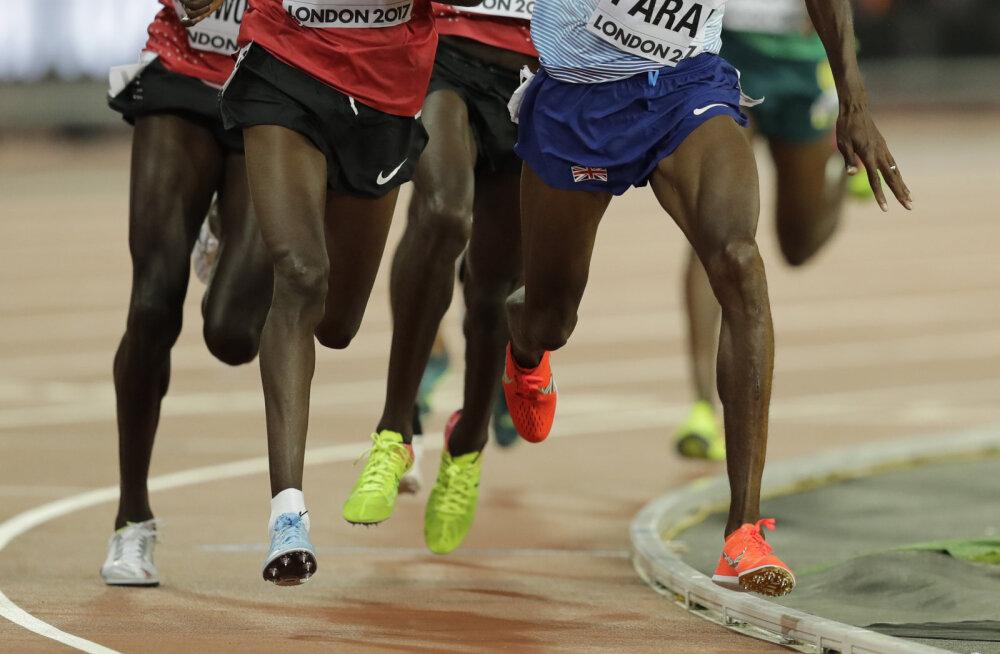 10 000 meetri jooks. Pilt on illustratiivne