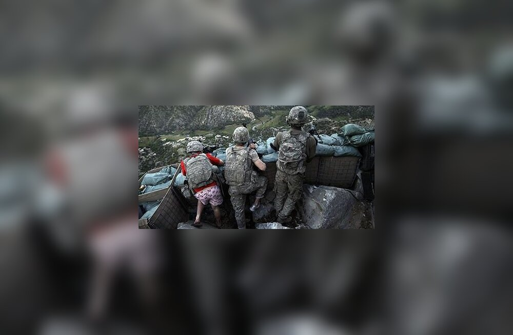 Roosade bokseritega Talibani vastu