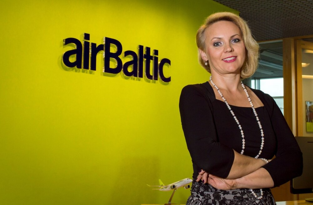 Air Balticu ja Coalition Rewards personalijuht Daiga Ergle