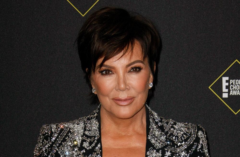 Polegi vihane! Hoolimata solvavatest säutsudest on Kris Jenner Kanye Westile endiselt toeks