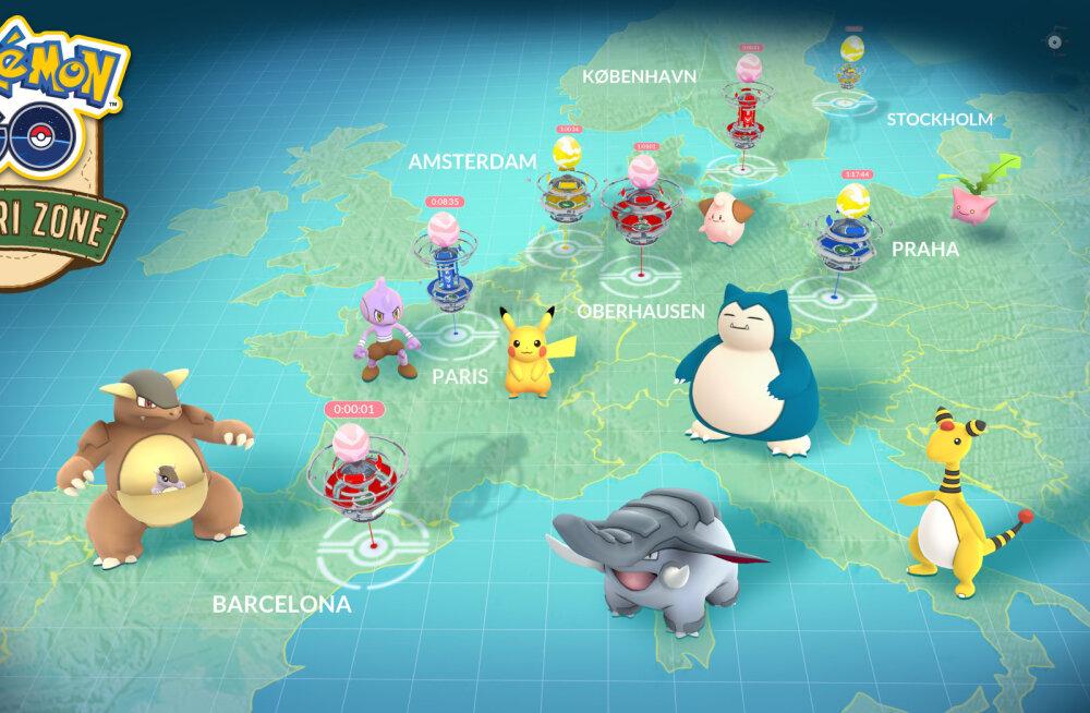 See on üllatav, kui palju raha teenib kahe aasta vanune hittmobiilimäng Pokémon GO veel täna