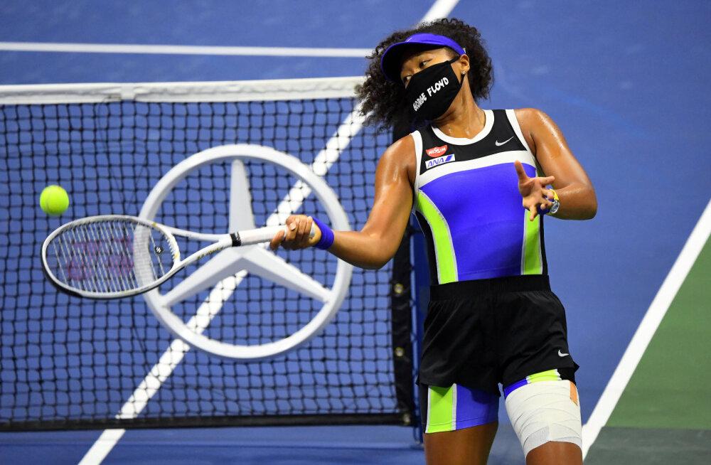 Kontaveiti alistanud Naomi Osaka sammus US Openil poolfinaali