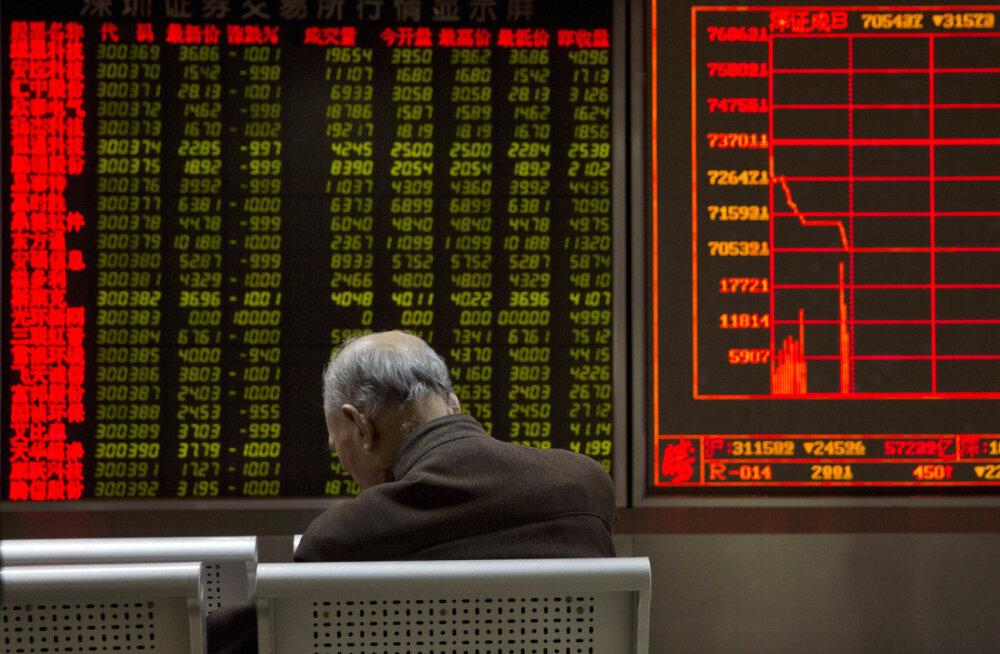 Мировые рынки упали из-за опасений, что нефть продолжит дешеветь