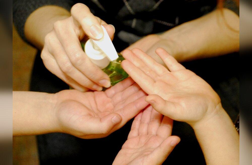 Kätepesul on toiduhügieenis oluline roll