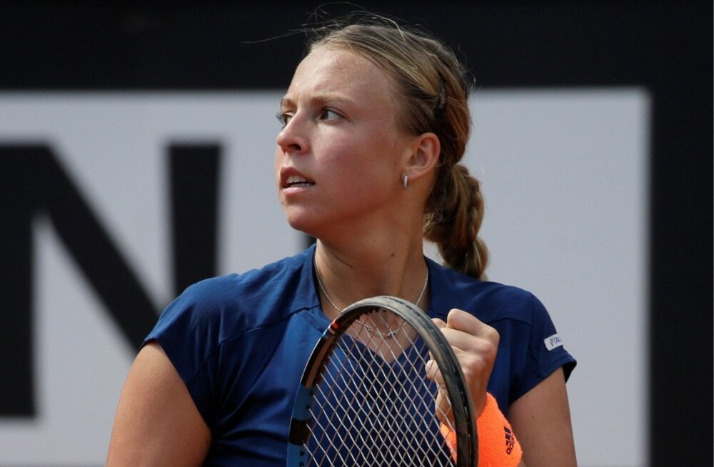 Anett Kontaveit - Angelique Kerber Rooma turniiril