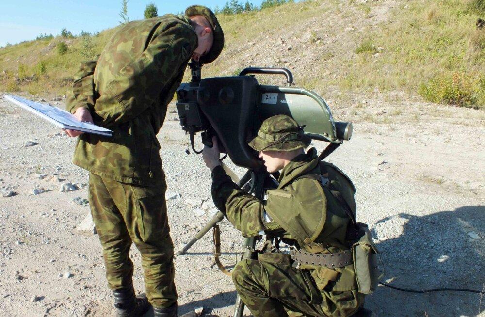 Эстонская армия планирует развивать сиргалаский полигон
