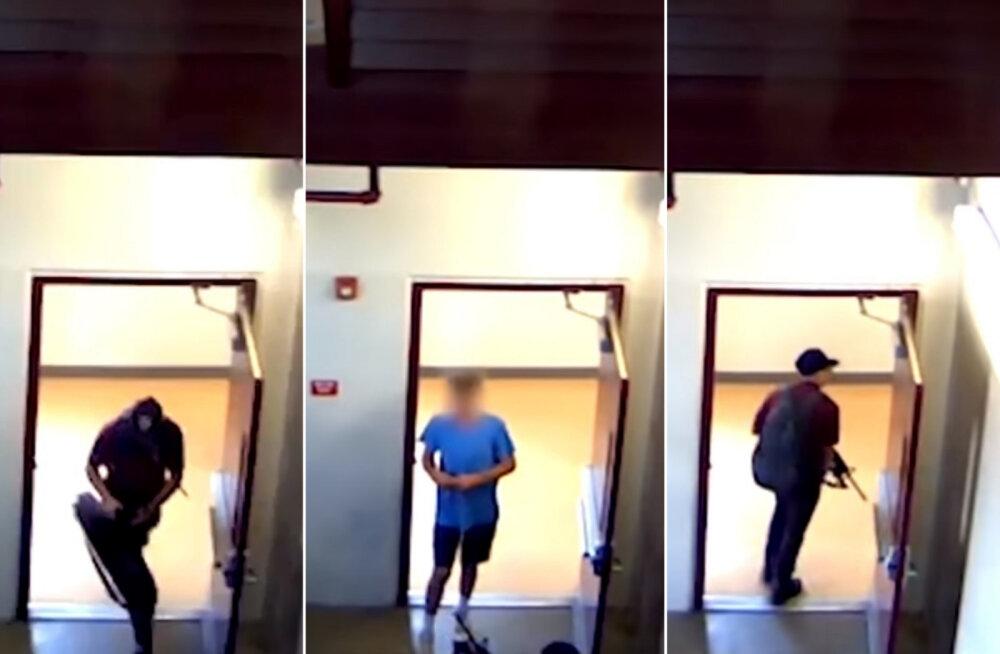 VIDEOD | Hetk, mil Florida koolitulistaja massimõrva alustas: sul oleks mõistlik siit kaduda