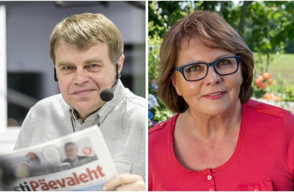 Andrus Kivirähk ja Siiri Oviir