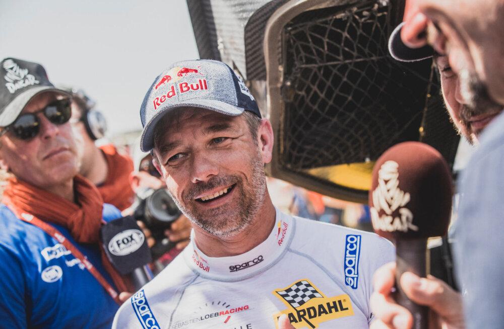 Sébastien Loeb ei usu, et ta Monte Carlos kõrgesse mängu sekkuda võiks