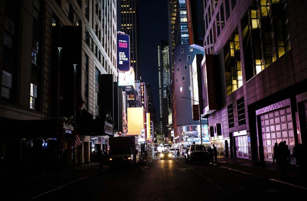 New York mattus voolukatkestuse tõttu tundideks suurde pimedusse: põhjus teadmata