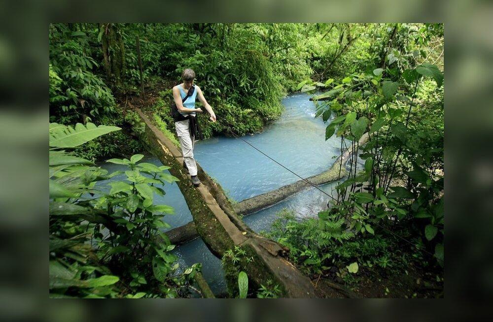 Viga Google Maps'is: Nicaragua armee marssis Costa Ricasse