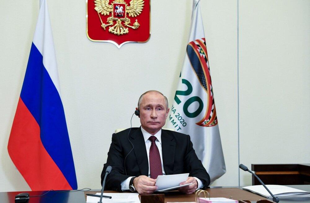 Putin: mina veel Bidenit ei tunnusta