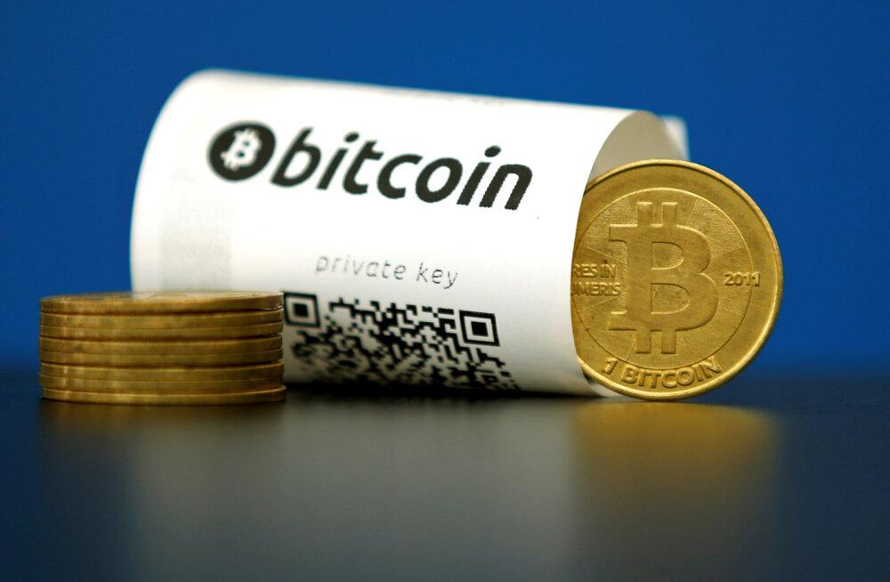 Bitcoini tabas järjekordne tagasilöök