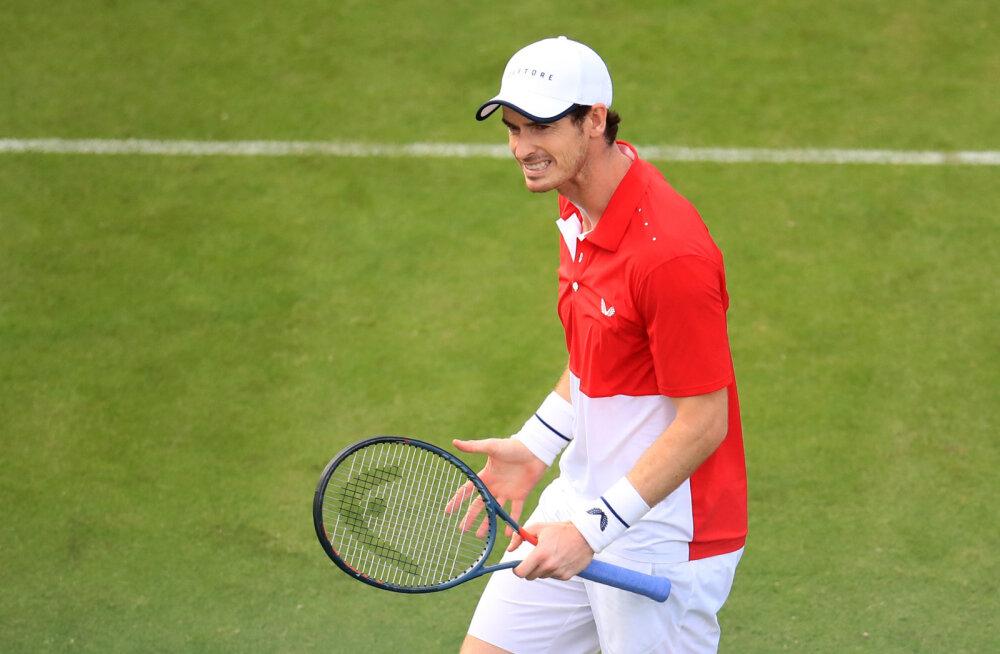 Võimsa tagasituleku teinud Andy Murray sai vigastuspausijärgse esimese kaotuse