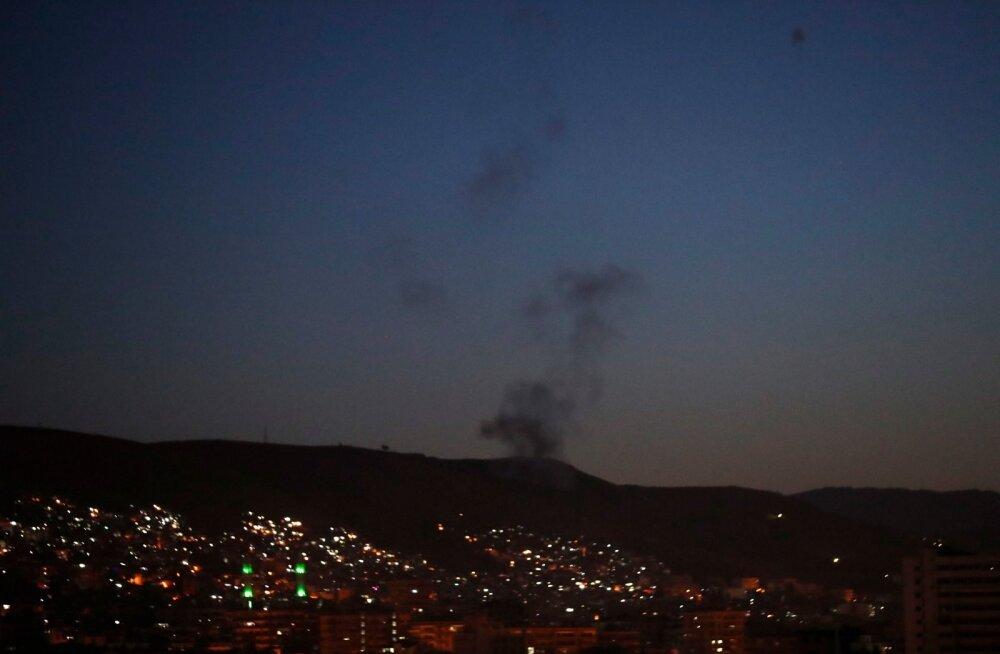 Õhurünnakud Süürias